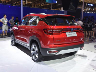 Changan CS35 Plus at 2018 Chengdu Auto Show 5