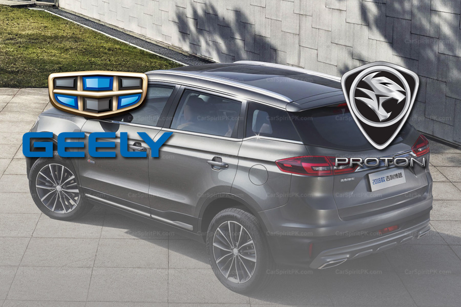 Geely To License 3 Models To Proton 6