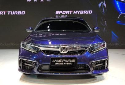 Honda Inspire at 2018 Chengdu Auto Show 6