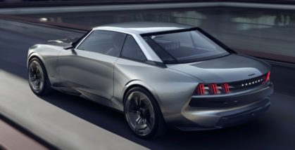 Peugeot Unveils the E-Legend- A Retro Styled Electric Vehicle 20