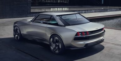Peugeot Unveils the E-Legend- A Retro Styled Electric Vehicle 43