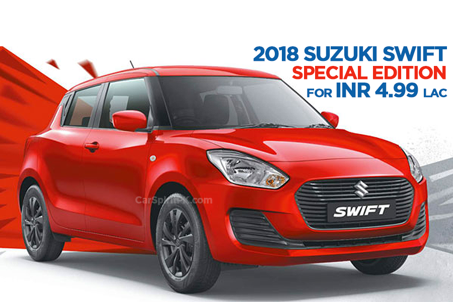 Suzuki Swift Special Edition Launched in India at INR 4.99 lac 4