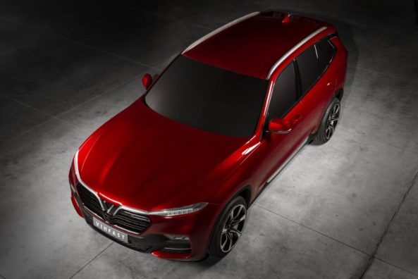 VinFast to Unveil Vietnam's First Sedan and SUV at Paris Motor Show 2