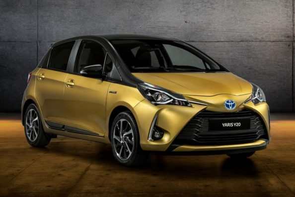 Toyota Celebrates 20 Years of Yaris with Gold-Painted Special Edition 2