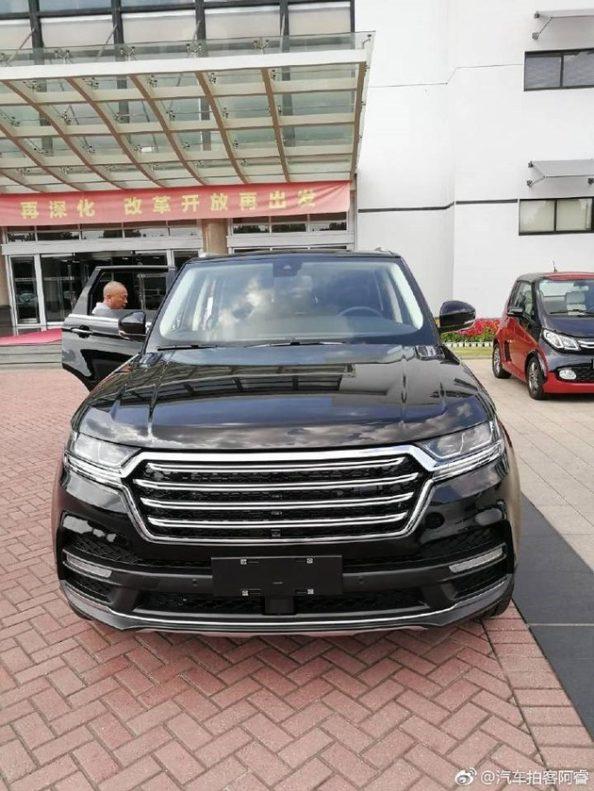 Zotye Copies the Range Rover Sport 2