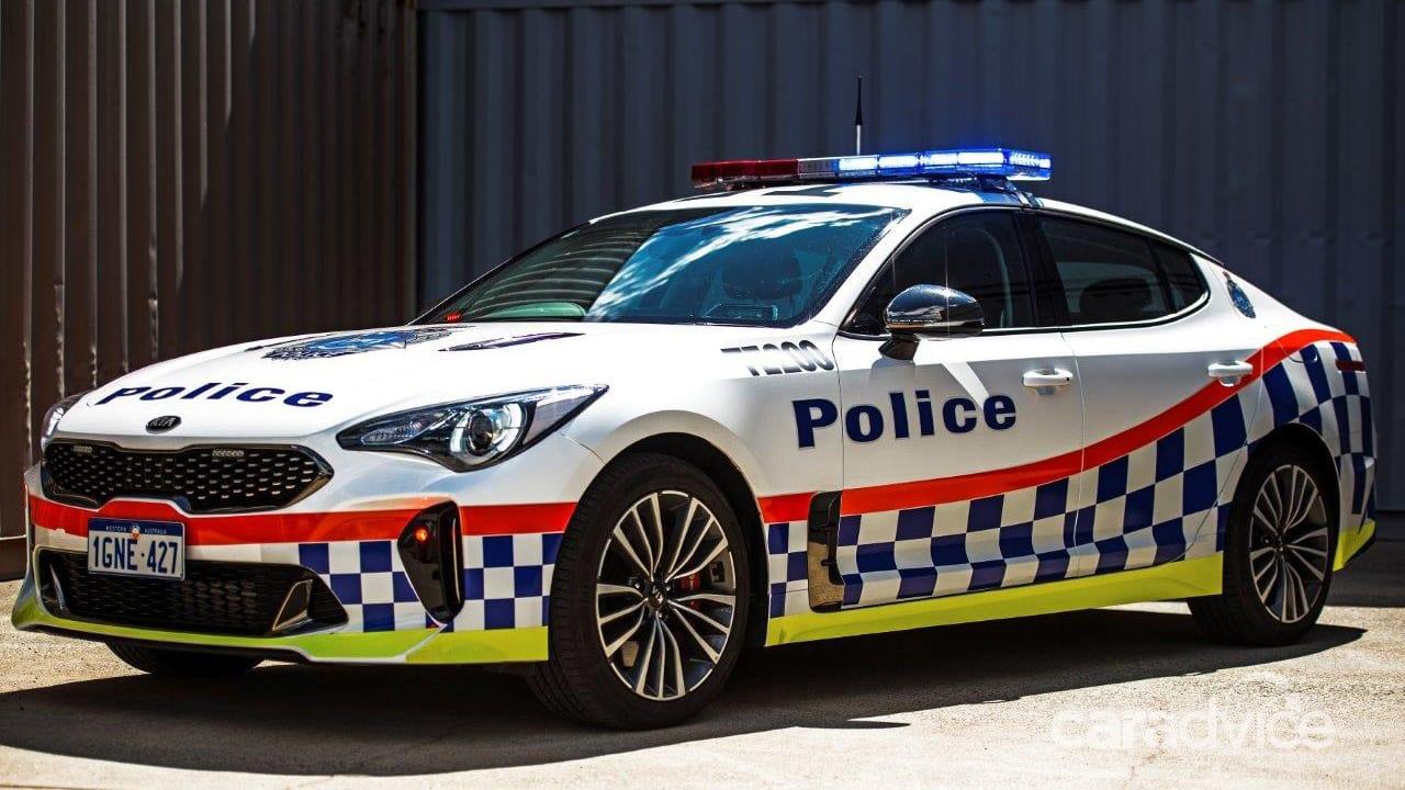 Following Queensland, Kia Stinger joins WA Police Fleet 5