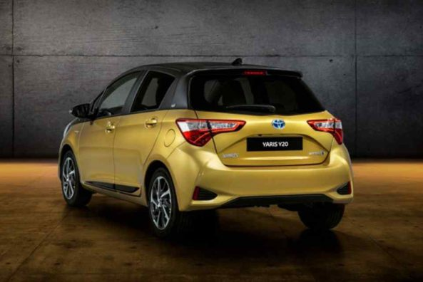 Toyota Celebrates 20 Years of Yaris with Gold-Painted Special Edition 3