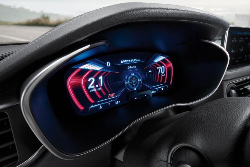 Genesis G70 Gets World's First 3D Instrument Display 2