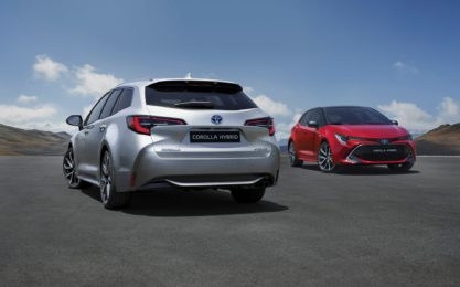 New Toyota Corolla Debuts With Two Flavors at Paris Motor Show 15