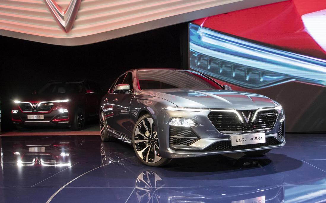 VinFast Unveils Vietnam's First Cars at Paris Motor Show 1