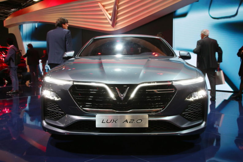 VinFast Unveils Vietnam's First Cars at Paris Motor Show 2