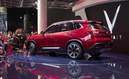 VinFast Unveils Vietnam's First Cars at Paris Motor Show 10