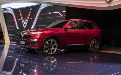 VinFast Unveils Vietnam's First Cars at Paris Motor Show 9