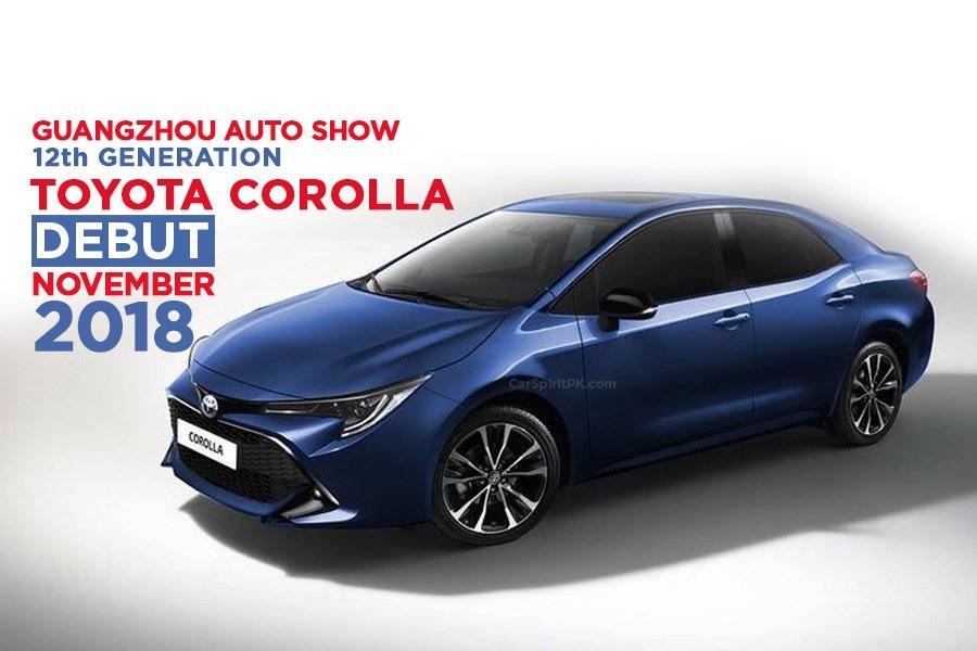 Next Gen Toyota Corolla Sedan to Debut at 2018 Guangzhou Auto Show 9