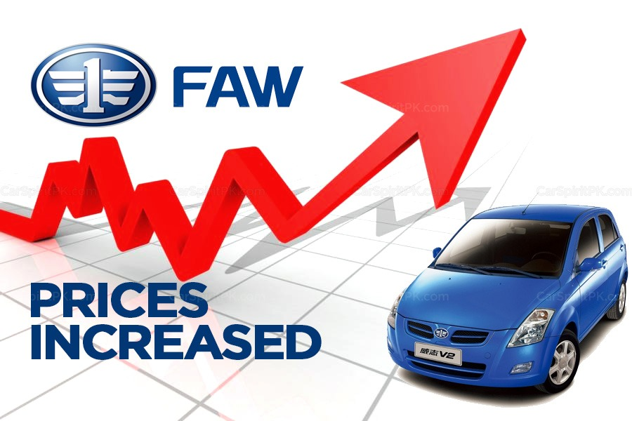 Al-Haj FAW Vehicle Prices Increased 6