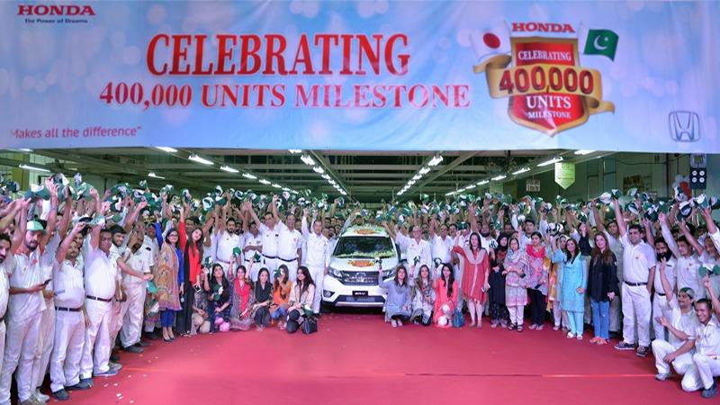 Honda Atlas Cars Celebrates 400,000-unit Production Milestone 9
