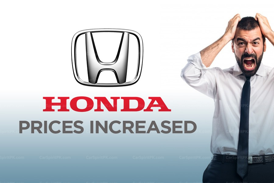 Honda Car Prices Revised 5