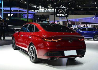 Hyundai Lafesta- A Korean Sedan For China With An Italian Name 4