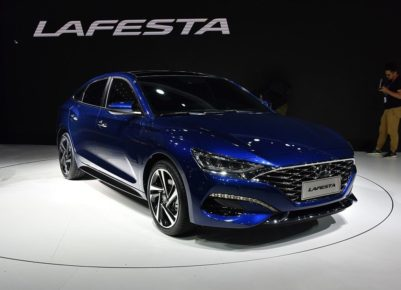 Hyundai Lafesta- A Korean Sedan For China With An Italian Name 7