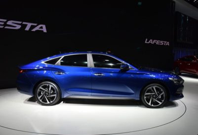 Hyundai Lafesta- A Korean Sedan For China With An Italian Name 8