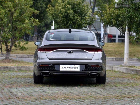 Hyundai Lafesta- A Korean Sedan For China With An Italian Name 14