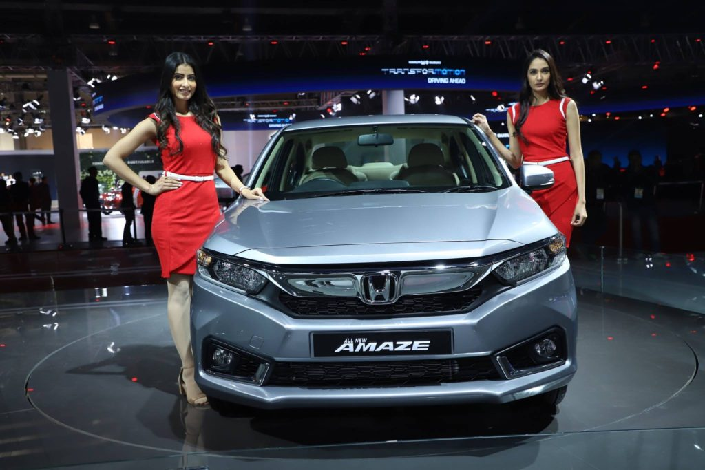 2020 Honda Amaze Launched in India from INR 6.09 Lac 2