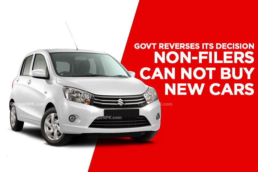 Non-Filers Cannot Buy New Cars and Property 1