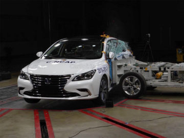 Changan Raeton CC Got 5 Stars from CNCAP Crash Tests 2