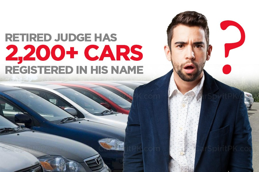 Retired Judge Has Over 2,200 Cars Registered In His Name 3