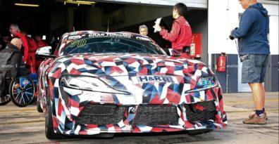 2019 Toyota Supra Spied at Nürburgring 4