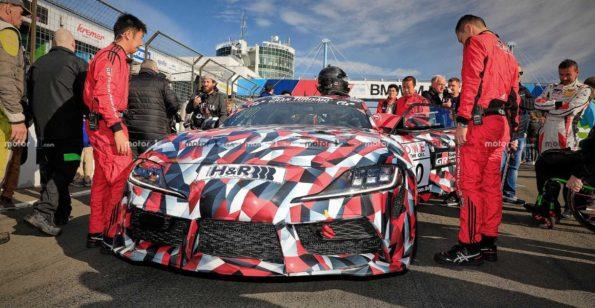 2019 Toyota Supra Spied at Nürburgring 7