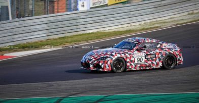 2019 Toyota Supra Spied at Nürburgring 16