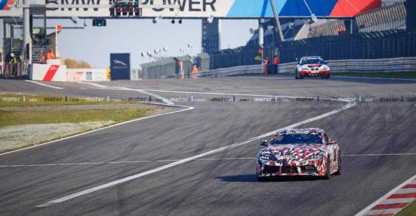 2019 Toyota Supra Spied at Nürburgring 17
