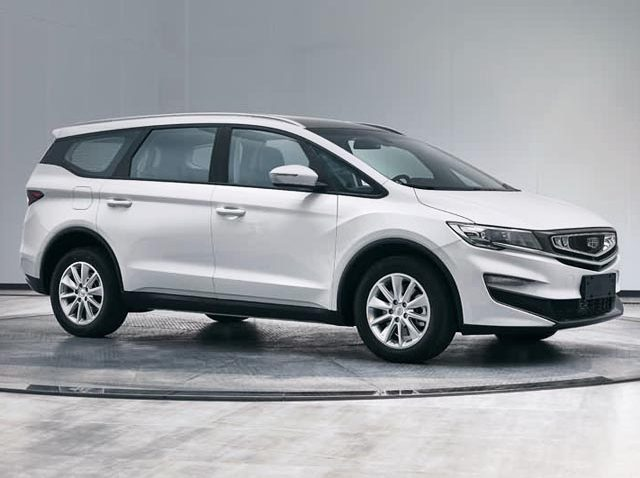 Geely Releases Initial Details and Images of the VF11 JiaJi MPV 12