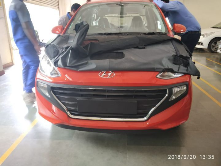 All New Hyundai Santro Spotted Ahead of Official Debut 10