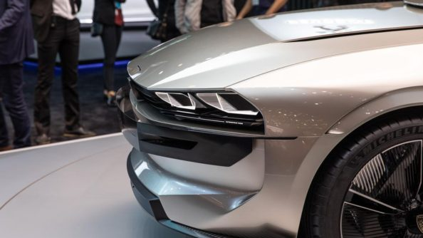 Retro-Styled Peugeot E-Legend Debuts at Paris Motor Show 9