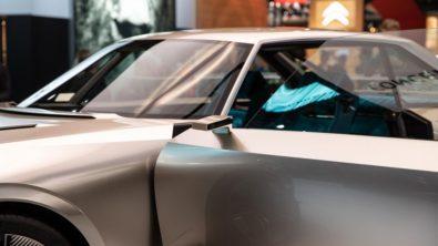 Retro-Styled Peugeot E-Legend Debuts at Paris Motor Show 11