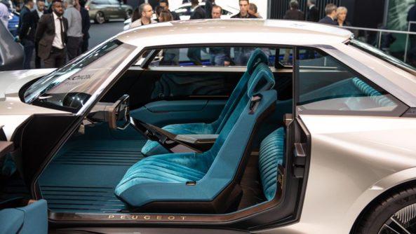 Retro-Styled Peugeot E-Legend Debuts at Paris Motor Show 15