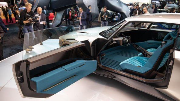 Retro-Styled Peugeot E-Legend Debuts at Paris Motor Show 5