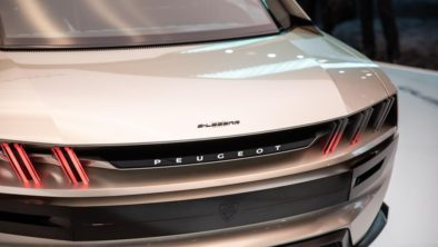 Retro-Styled Peugeot E-Legend Debuts at Paris Motor Show 13
