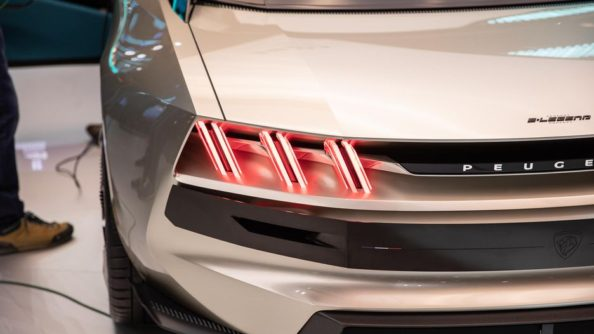 Retro-Styled Peugeot E-Legend Debuts at Paris Motor Show 4