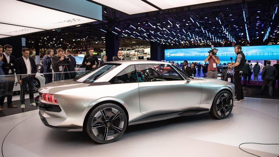 Retro-Styled Peugeot E-Legend Debuts at Paris Motor Show 21