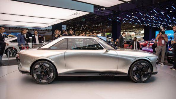 Retro-Styled Peugeot E-Legend Debuts at Paris Motor Show 20