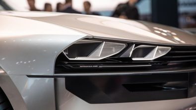 Retro-Styled Peugeot E-Legend Debuts at Paris Motor Show 1