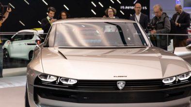 Retro-Styled Peugeot E-Legend Debuts at Paris Motor Show 7