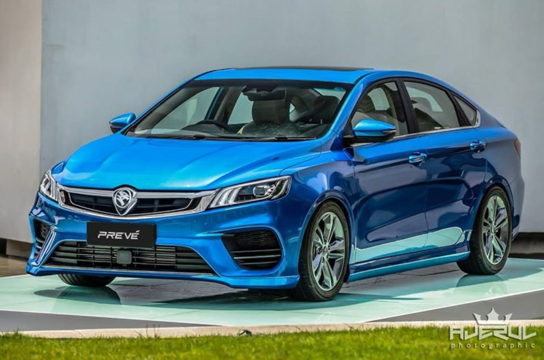 Next Gen Proton Preve to be Based on Geely BinRui 7