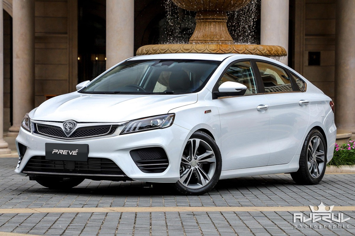 Next Gen Proton Preve to be Based on Geely BinRui 1