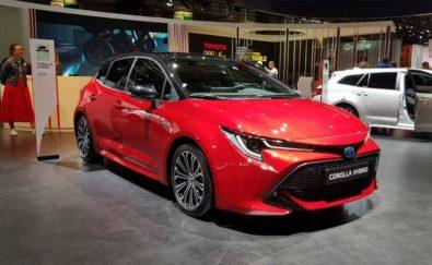 Toyota Corolla Hybrid Unveiled at 2018 Paris Motors Show 1