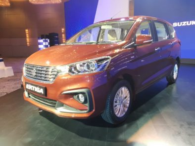 Maruti Launches the All New Suzuki Ertiga Priced From INR 7.44 lac 7