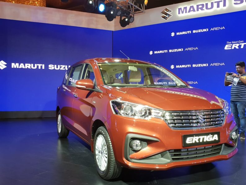 Maruti Launches the All New Suzuki Ertiga Priced From INR 7.44 lac 6